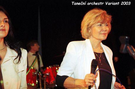 Ivana Hajná a Aťka Knotková - 2003